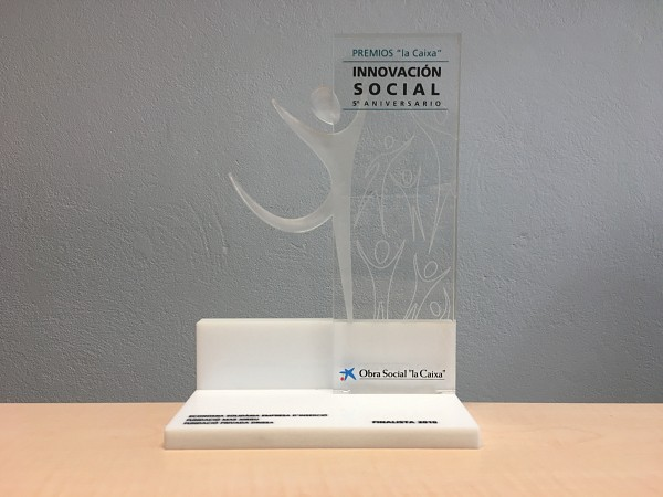 Rebooks: finalist at the Caixa Catalunya Social Innovation Awards