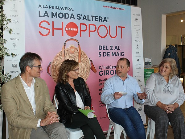 Presentation of the 13th edition of ShoppOut at a press conference