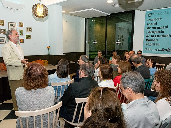 The debate on social economy reaches the La Rosaleda gatherings